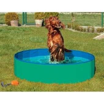 Karlie DOGGY POOL der Swimmingpool für Hunde - Grün-Blau - 120 cm