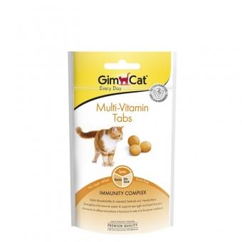 GimCat Multi-Vitamin Tabs 40g