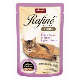 Animonda Rafine Soupe Pute + Lamm mit Joghurt-Sahnesauce 100g