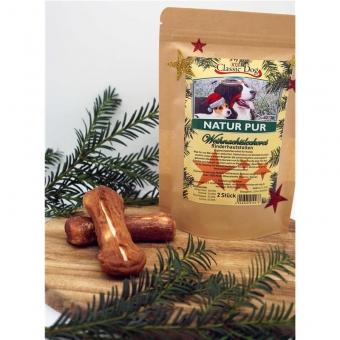 Classic Dog Weihnachtsleckerei Rinderhautstollen