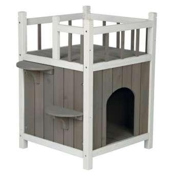 Trixie Katzenhaus Cat's Home mit Balkon