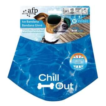 All for Paws Chill Out Ice Bandana- kühlendes Halstuch für Hunde M