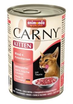 Aktion: Animonda Carny Kitten Rind & Putenherz 400g