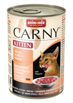 Aktion: Animonda Carny Kitten Rind, Kalb & Huhn 400g