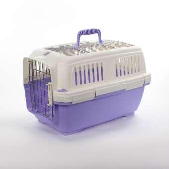 Marchioro Transportbox Clipper Aran 1 - lila-pastell/weiß