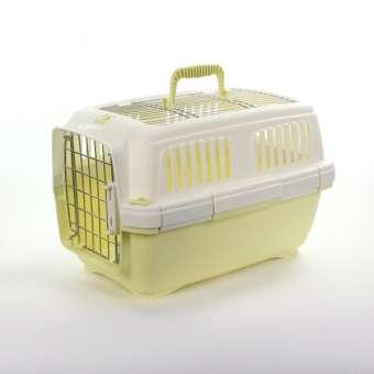 Marchioro Transportbox Clipper Aran 1 - gelb-pastell/weiß