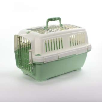 Marchioro Transportbox Clipper Aran 1 - grün-pastell/weiß