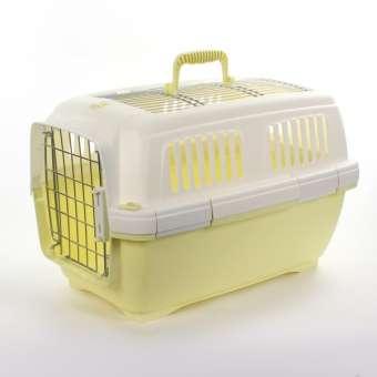 Marchioro Transportbox Clipper Aran 2 - gelb-pastell/weiß