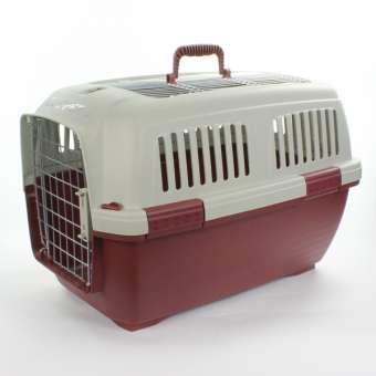 Marchioro Transportbox Clipper Aran 3 - bordeaux/grau beige