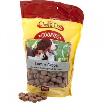 Aktion: Classic Dog Cookies Lamm-Drops 500g