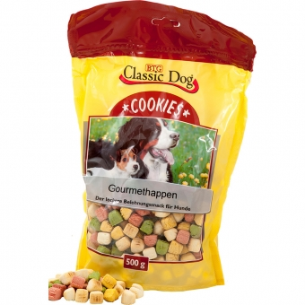 Aktion: Classic Dog Cookies Gourmethappen 500g