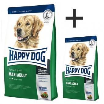 Aktion: Happy Dog Supreme Fit & Well Maxi Adult 4kg + 1kg gratis