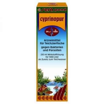 Sera Cyprinopur 250ml für Gartenteiche