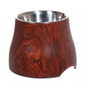 DOGIT 2-in-1 Napf Holzdekor - 850 ml
