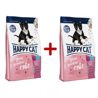 Aktion: Happy Cat Supreme Junior Grainfree Ente 300g + 300g gratis