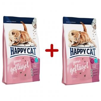 Aktion: Happy Cat Supreme Junior Geflügel 300g + 300g gratis