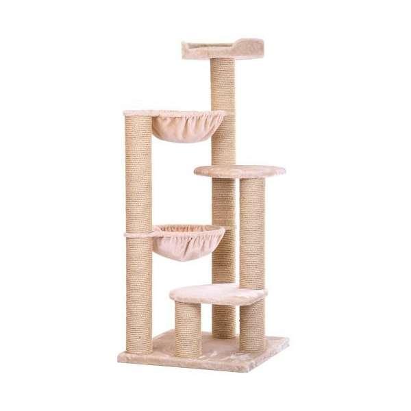 kratzbaum maine coon big ben beige kratzbaum f r gro e. Black Bedroom Furniture Sets. Home Design Ideas