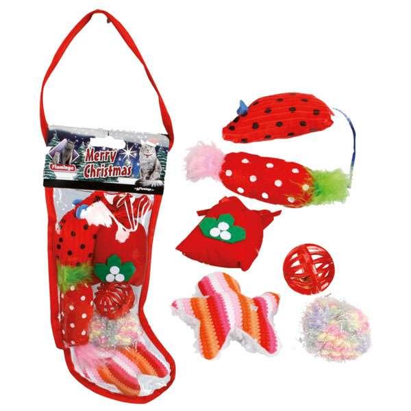 karlie flamingo xmas weihnachtsgeschenkset socke f252r