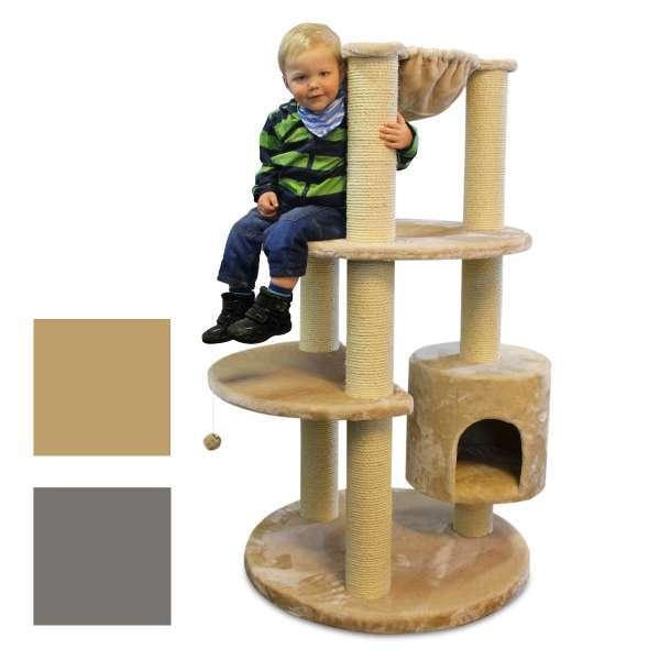 kratzbaum maine coon colosseum kratzbaum f r gro e. Black Bedroom Furniture Sets. Home Design Ideas