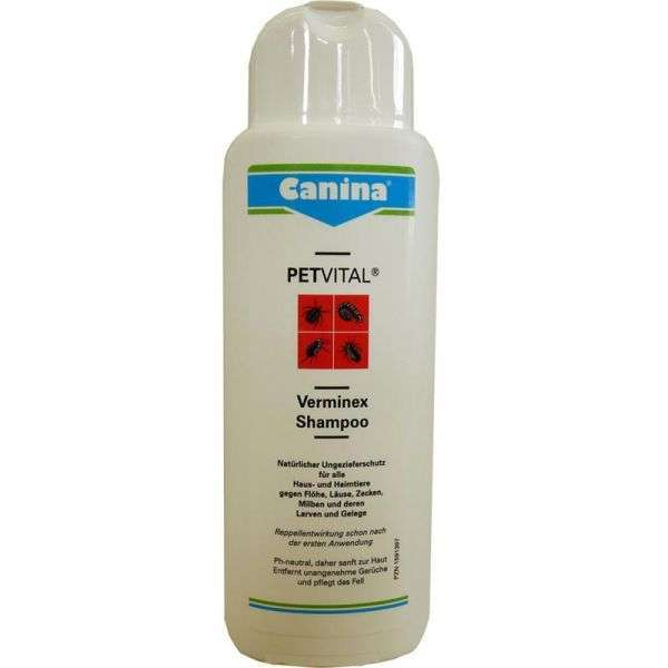 canina pharma verminex shampoo 250 ml ungeziefer schutz. Black Bedroom Furniture Sets. Home Design Ideas